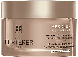 Profumi e cosmetici Maschera rivitalizzante per capelli spessi - Rene Furterer Absolue Keratine Thick Hair Mask