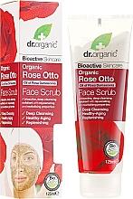 """Profumi e cosmetici Scrub viso """"Rose Otto"""" - Dr. Organic Bioactive Skincare Rose Otto Face Scrub"""