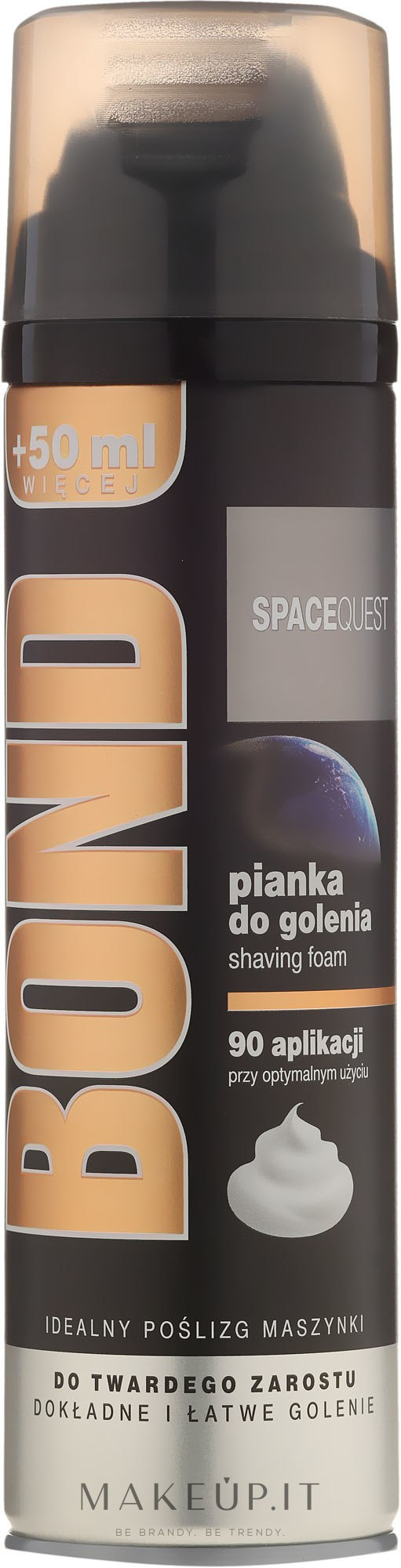 Schiuma da barba - Bond Spacequest Shaving Foam — foto 200 ml