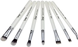 Profumi e cosmetici Set di pennelli da trucco - Nanshy Eye Brush Set P. White (Brush/7pezzi)