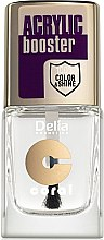 Profumi e cosmetici Fissatore smalto con effetto gel-smalto - Delia Acrylic Booster Top Coat