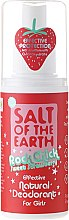 Profumi e cosmetici Deodorante spray naturale - Salt of the Earth Rock Chick Girls Sweet Strawberry Natural Deodorant