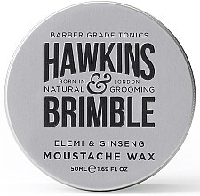 Profumi e cosmetici Cera per baffi - Hawkins & Brimble Elemi & Ginseng Moustache Wax