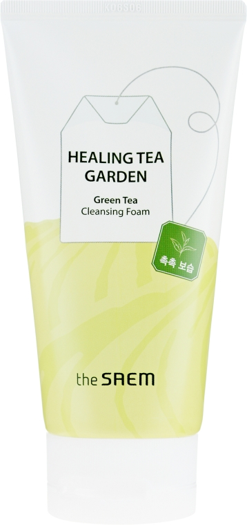 Schiuma viso detergente - The Saem Healing Tea Garden Green Tea Cleansing Foam