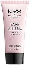 Profumi e cosmetici Primer viso - NYX Professional Makeup Bare With Me Hemp Radiant Perfecting Primer