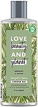 "Profumi e cosmetici Gel doccia disintossicante ""Rosmarino e vetiver"" - Love Beauty&Planet Delightful Detox Rosemary & Vetiver Shower Gel"