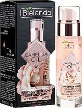 Profumi e cosmetici Siero viso anti-età - Bielenda Camellia Oil Luxurious Rejuvenating Serum