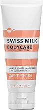 Profumi e cosmetici Crema mani - Artemis Swiss Milk Hand Cream 3in1
