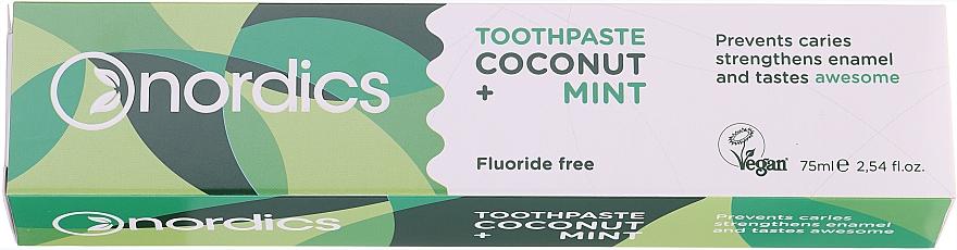 """Dentifricio """"Cocco e Menta"""" - Nordics Coconut + Mint Toothpaste"""