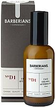 Profumi e cosmetici Crema viso e dopobarba - Barberians. №D1 Face Cream & Aftershave