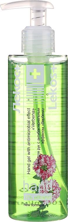 "Gel mani antibatterico ""Verbena"" - Markell Cosmetics Lekos+"