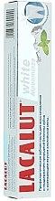 """Profumi e cosmetici Dentifricio """"White Alpine Mint"""" - Lacalut White Alpenminze Toothpaste"""