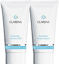 Profumi e cosmetici Set - Clarena Barbados Clarena (sh/gel/30ml + body/chr/30ml)