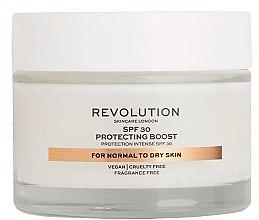 Profumi e cosmetici Crema idratante per pelli secche - Revolution Skincare Protecting Boost SPF30