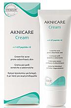 Profumi e cosmetici Crema contro l'acne e punti neri - Synchroline Aknicare Cream