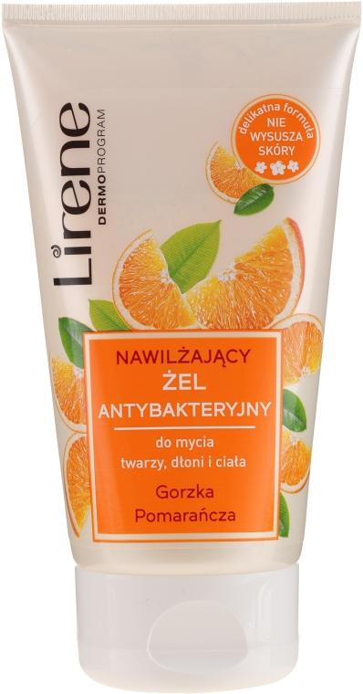 "Gel antibatterico detergente per mani, viso e corpo ""Arancia amara"" - Lirene"
