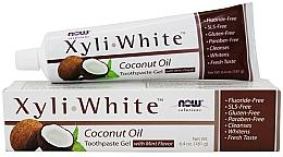 Profumi e cosmetici Gel dentifricio con olio di cocco - Now Foods XyliWhite Coconut Oil Toothpaste Gel