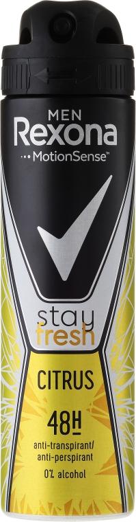 Deodorante spray - Rexona Men Stay Fresh Citrus Deodorant Spray