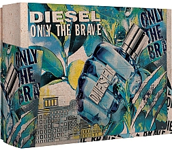 Profumi e cosmetici Diesel Only The Brave - Set (edt/50ml + sh/g/100ml)