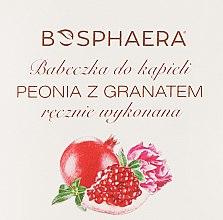"""Profumi e cosmetici Bomba da bagno """"Peonia con melograno"""" - Bosphaera"""