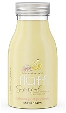 "Profumi e cosmetici Lozione doccia ""Banana e mandorle"" - Fluff Smoothie Superfood Body Lotion Bananas and Almonds"