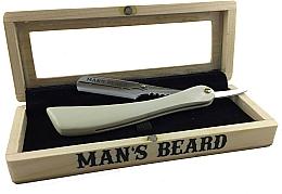 Profumi e cosmetici Rasoio in scatola - Man's Beard Coffret Shavette Blanche