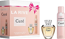 Profumi e cosmetici La Rive Cute Woman - Set (edp/100ml + deo/150ml)