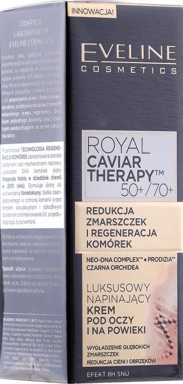 Crema contorno occhi levigante - Eveline Cosmetics Royal Caviar Therapy Eye Cream