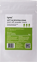 "Profumi e cosmetici Maschera viso ""Lifting"" - Lynia Lift & Revitalizing Peel-off Powder Mask"