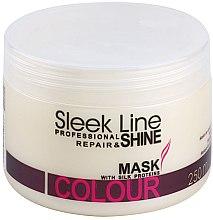 Profumi e cosmetici Maschera capelli - Stapiz Sleek Line Colour Mask