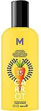 Profumi e cosmetici Crema solare per abbronzatura scura - Mediterraneo Sun Carrot Sunscreen Dark Tanning SPF15