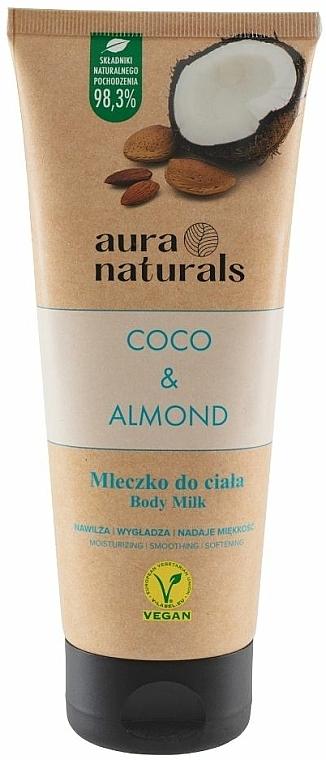 """Latte corpo """"Cocco e Mandorla"""" - Aura Naturals Coco & Almond Body Milk — foto N1"""