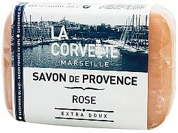 """Profumi e cosmetici Sapone provenzale """"Rose"""" - La Corvette Provence Soap Rose"""