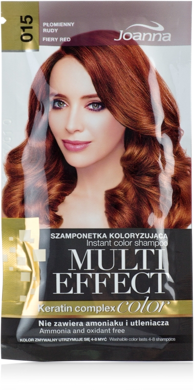 Shampoo colorante - Joanna Multi Effect Color Keratin Complex