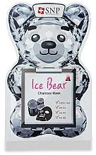 Profumi e cosmetici Maschera per il viso al carbone - SNP Ice Bear Charcoal Mask