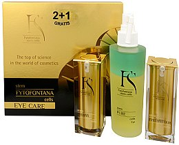 Profumi e cosmetici Set - Fytofontana Stem Cells Eye Care Set (ser/15ml + ser/30ml + wat/125ml)