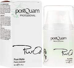Profumi e cosmetici Fluido viso rigenerante - PostQuam Pure 02 Matte Repair Fluid