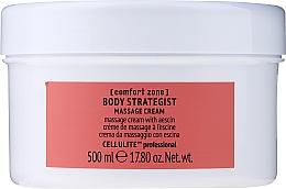 Profumi e cosmetici Crema massaggio corpo anticellulite con escin - Comfort Zone Body Strategist Massage Cream