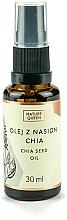 Profumi e cosmetici Olio di semi di Chia - Nature Queen Chia Seed Oil
