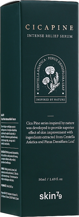 Siero viso intensamente rigenerante - Skin79 Cica Pine Intense Relief Serum — foto N2