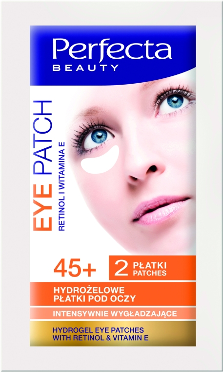 Patch di idrogel, contorno occhi - DAX Perfecta Eye Patch 45+
