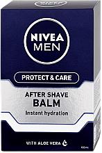 Profumi e cosmetici Balsamo dopobarba idratante - Nivea Men Prtotect & Care Moisturizing After Shave Balm