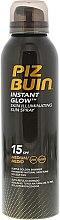Profumi e cosmetici Spray protettivo abbronzante - Piz Buin Instant Glow Skin Illuminating Sun Spray SPF15