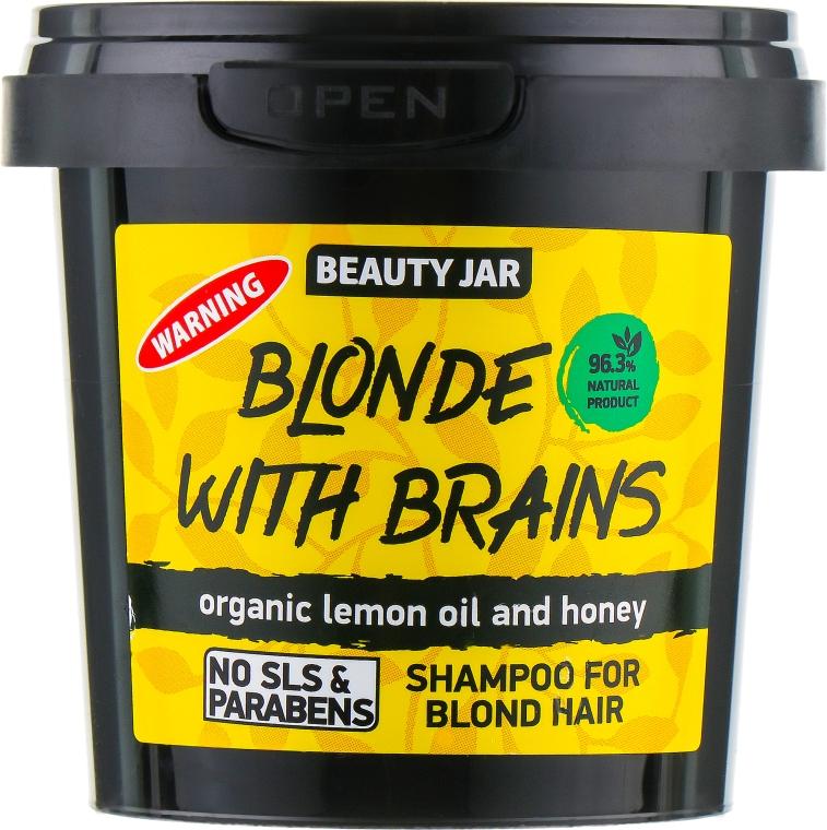 Shampoo per capelli biondi Blonde With Brains - Beauty Jar Shampoo For Blond Hair