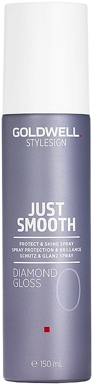Spray protettivo per capelli - Goldwell Style Sign Just Smooth Diamond Gloss Protect & Shine Spray