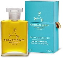 """Profumi e cosmetici Olio doccia rinfrescante e tonificante """"Revive Morning"""" - Aromatherapy Associates Revive Morning Bath & Shower Oil"""