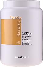 Profumi e cosmetici Maschera nutriente rivitalizzante per capelli secchi e sfibrati - Fanola Nourishing Restructuring Mask