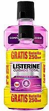 Profumi e cosmetici Set - Listerine Total Care (mouthwash/500ml+mouthwash/250ml)
