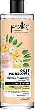 """Profumi e cosmetici Shampoo per capelli """"Aceto di albicocche"""" - Polka Apricot Vinegar Shampoo"""