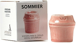 Profumi e cosmetici Portaspazzolino, rosso - NaturBrush Sommier Toothbrush Holder